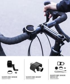 Gjør utesyklingen til en lek. Mål hastighet, distanse og tråkkfrekvens med Suunto Bike Kit